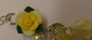 Ceramic flower pendant (3)