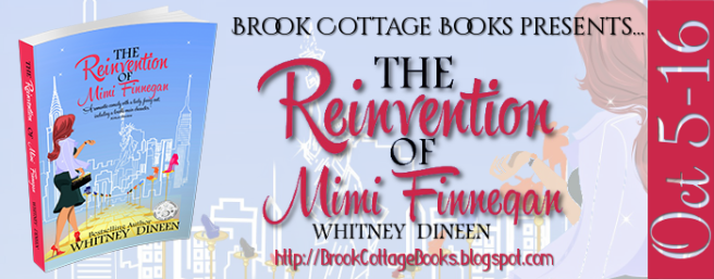 The Reinvention of Mimi Finnegan Tour Banner